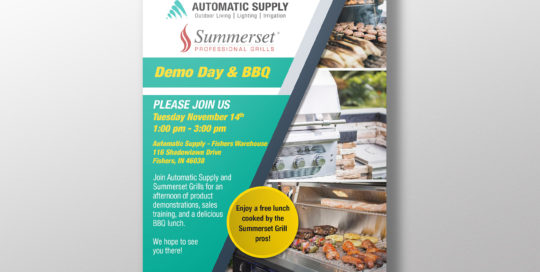 Automatic Supply Poster